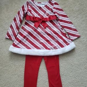 Cute Candy Cane Outfit
